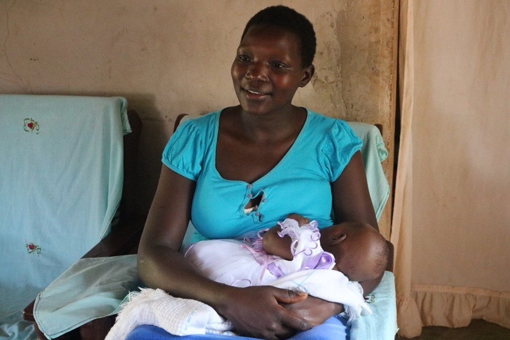 Kenya Experience: ESM-UBT Kit Saves a Mother of Three